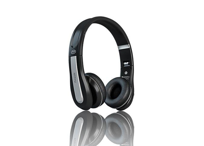 MiiKey Bluetooth Stereo Kopfhörer »Rhythm Pro« in schwarz / grau