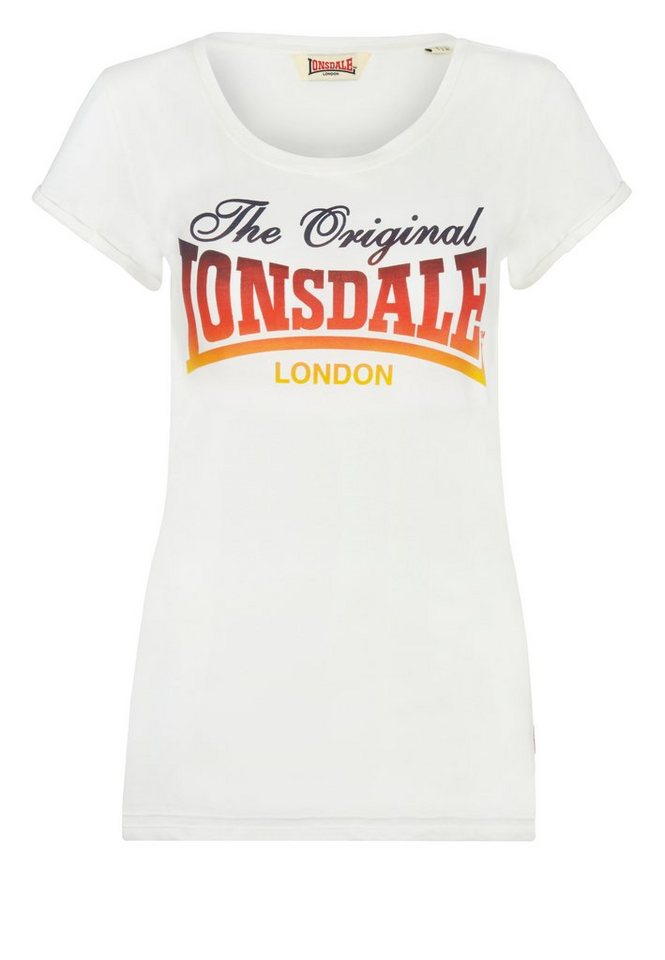 Lonsdale T-Shirt »WATCHET« in Off White