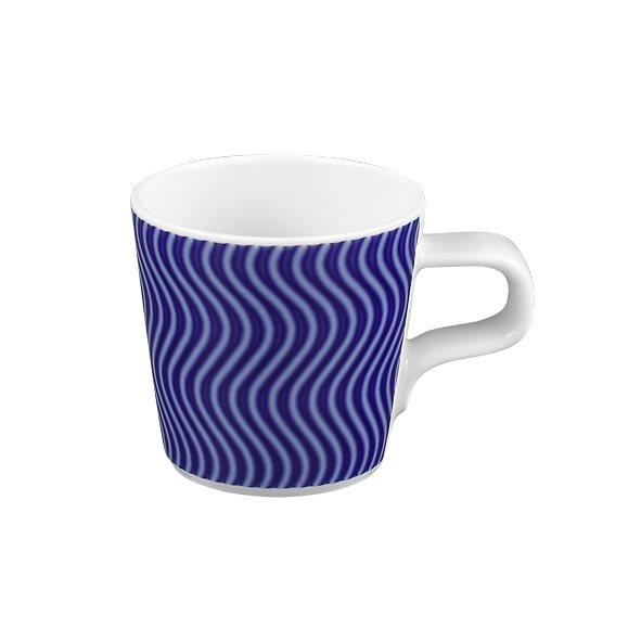 Seltmann Weiden Espressotasse »No Limits Blue-Motion« in Weiß, Blau