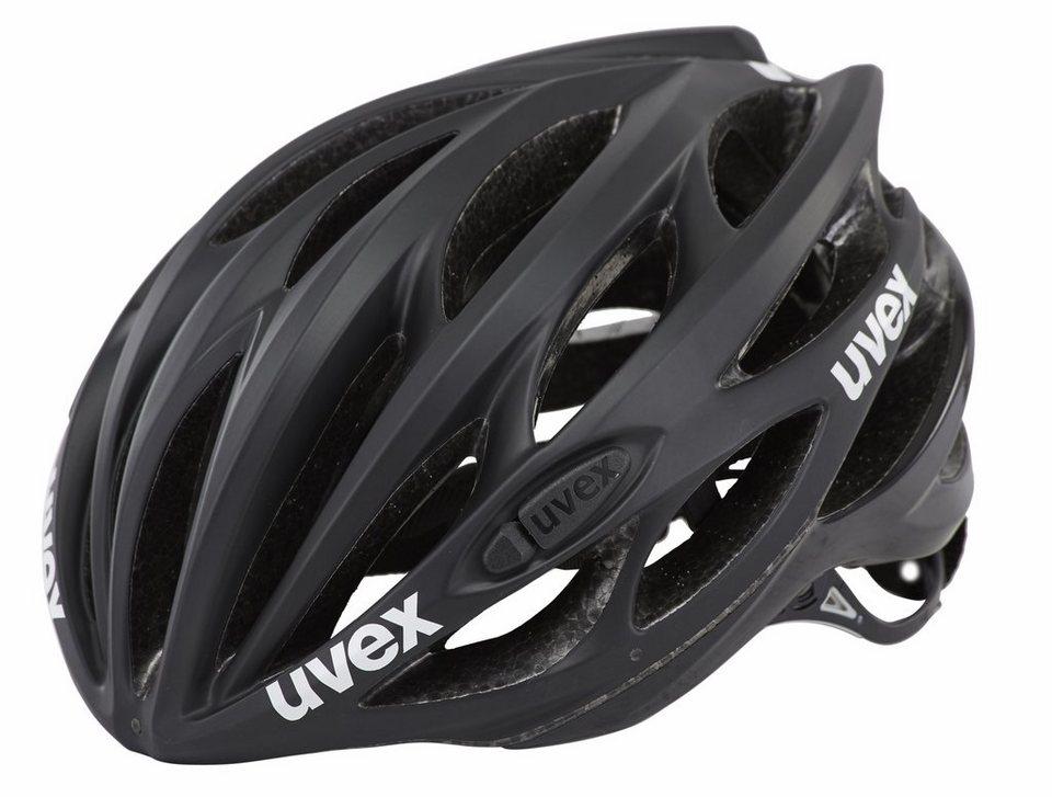 UVEX Fahrradhelm »race 1 Helm« in schwarz