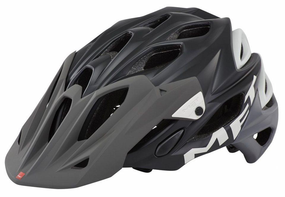 MET Fahrradhelm »Parabellum Helm« in schwarz