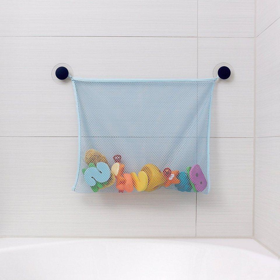Reer Spielzeugnetz für Badewanne in blau
