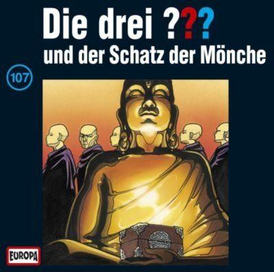 Sony CD Die drei ??? 107 (Schatz der Mönche)