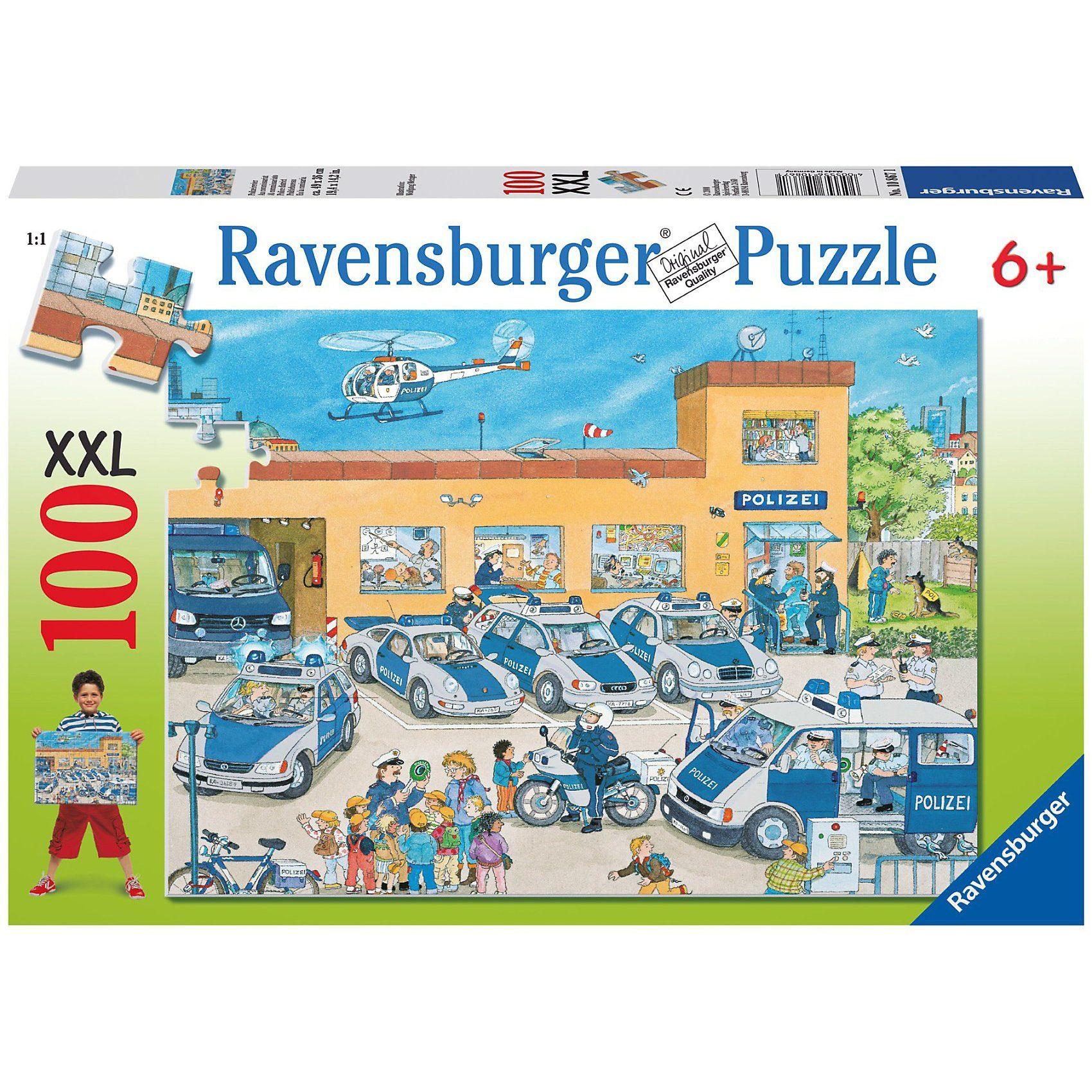 Ravensburger Puzzle XXL-100 Teile- Polizeirevier