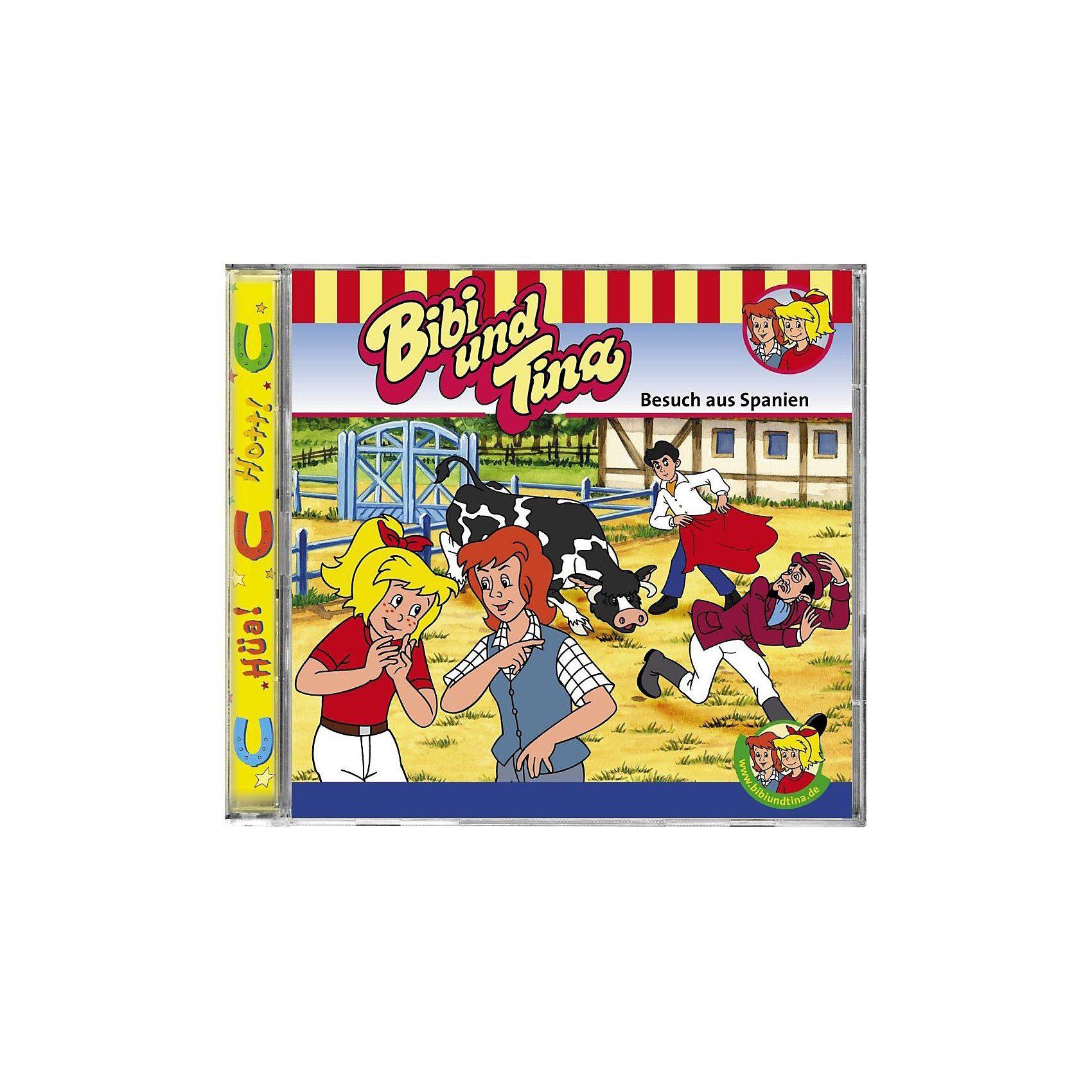 Kiddinx CD Bibi & Tina 51 - Besuch aus Spanien