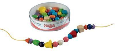Haba Bambini Perlen Schmuck, 52 Holzteile