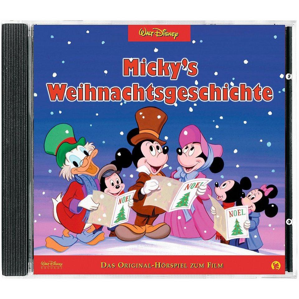 Kiddinx CD Mickys Weihnachtsgeschichte (Christmas Carol)