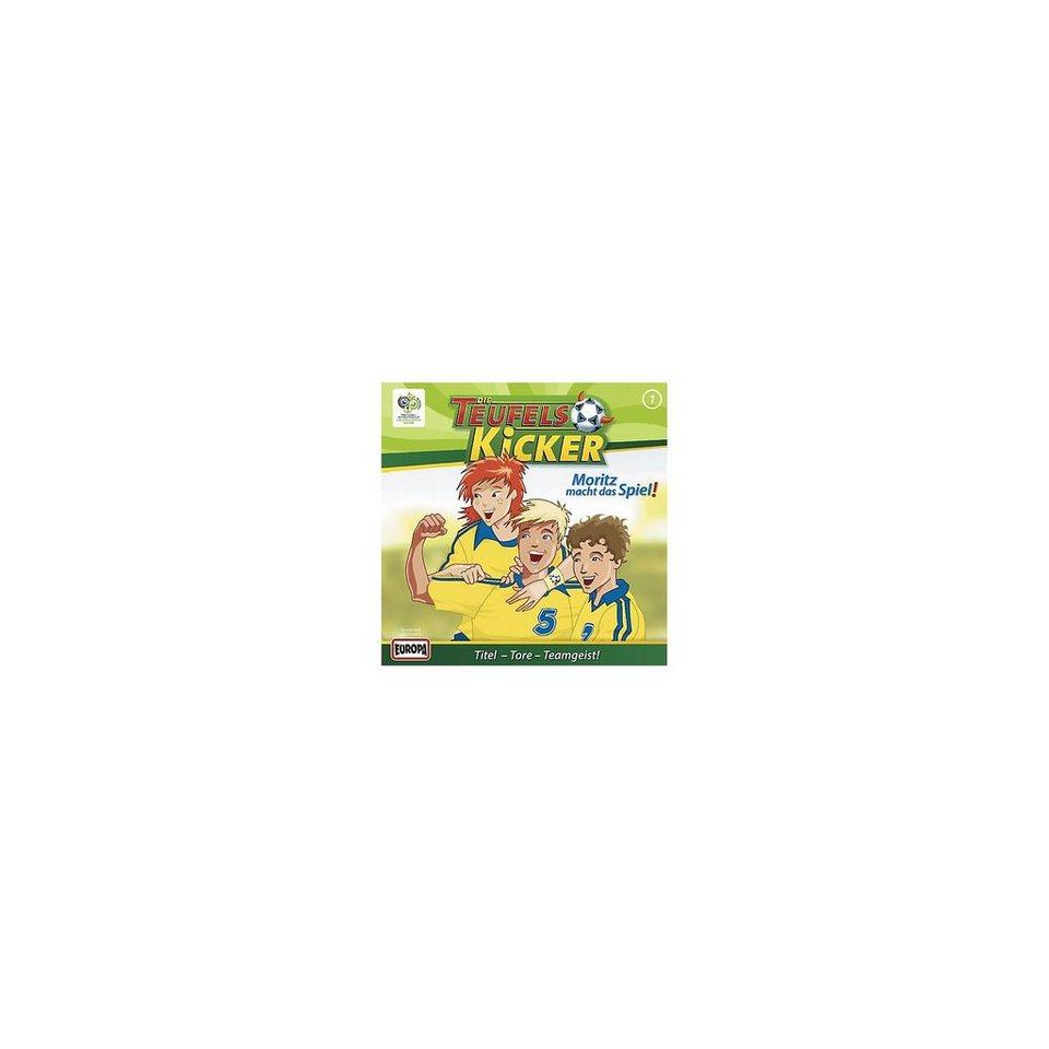 SONY BMG MUSIC CD Teufelskicker 01 - Moritz macht das Spiel!