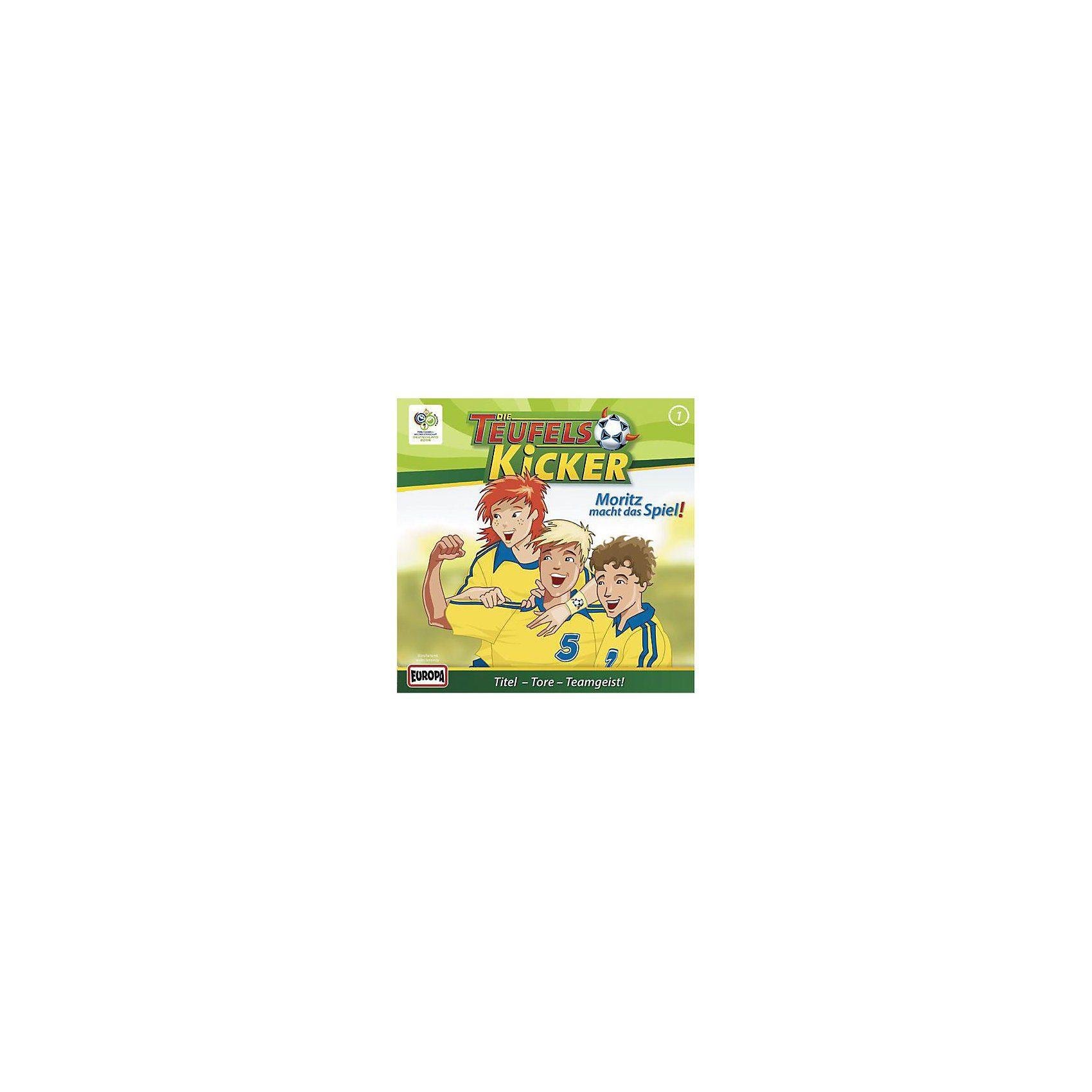 Sony CD Teufelskicker 01 - Moritz macht das Spiel!