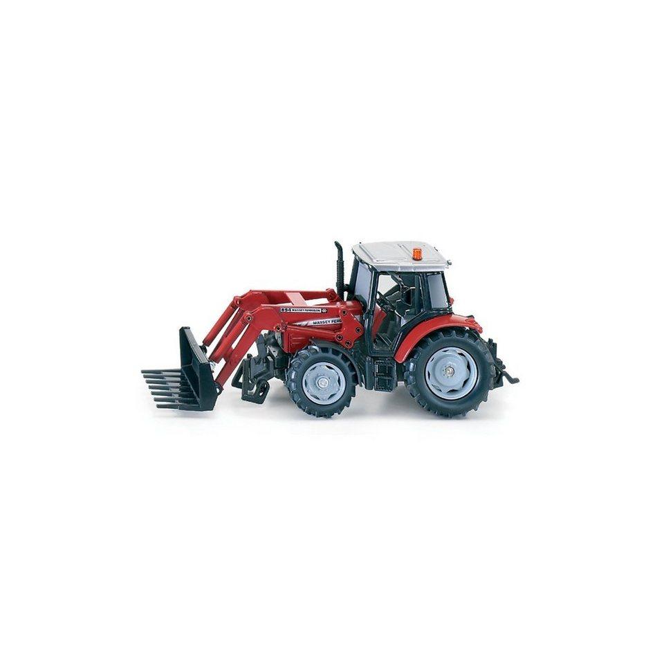 SIKU 3653 Traktor mit Frontladergabel 1:32