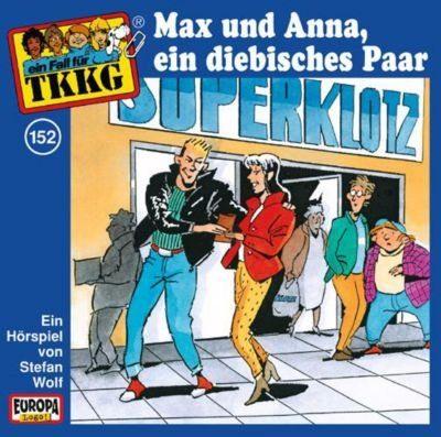 SONY BMG MUSIC CD TKKG 152 (Max und Anna, ein diebisches Paar)