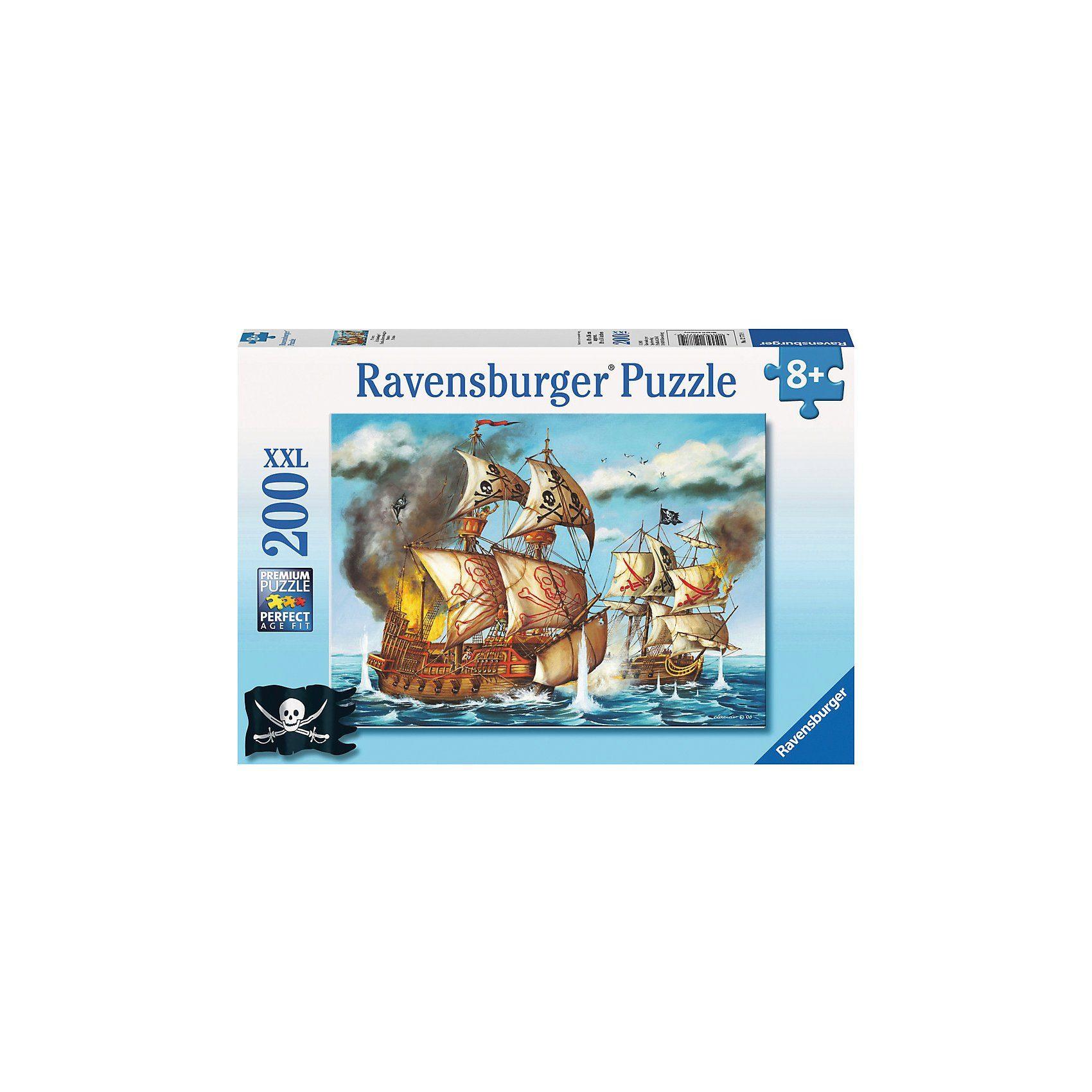 Ravensburger Puzzle XXL- 200 Teile- Piraten
