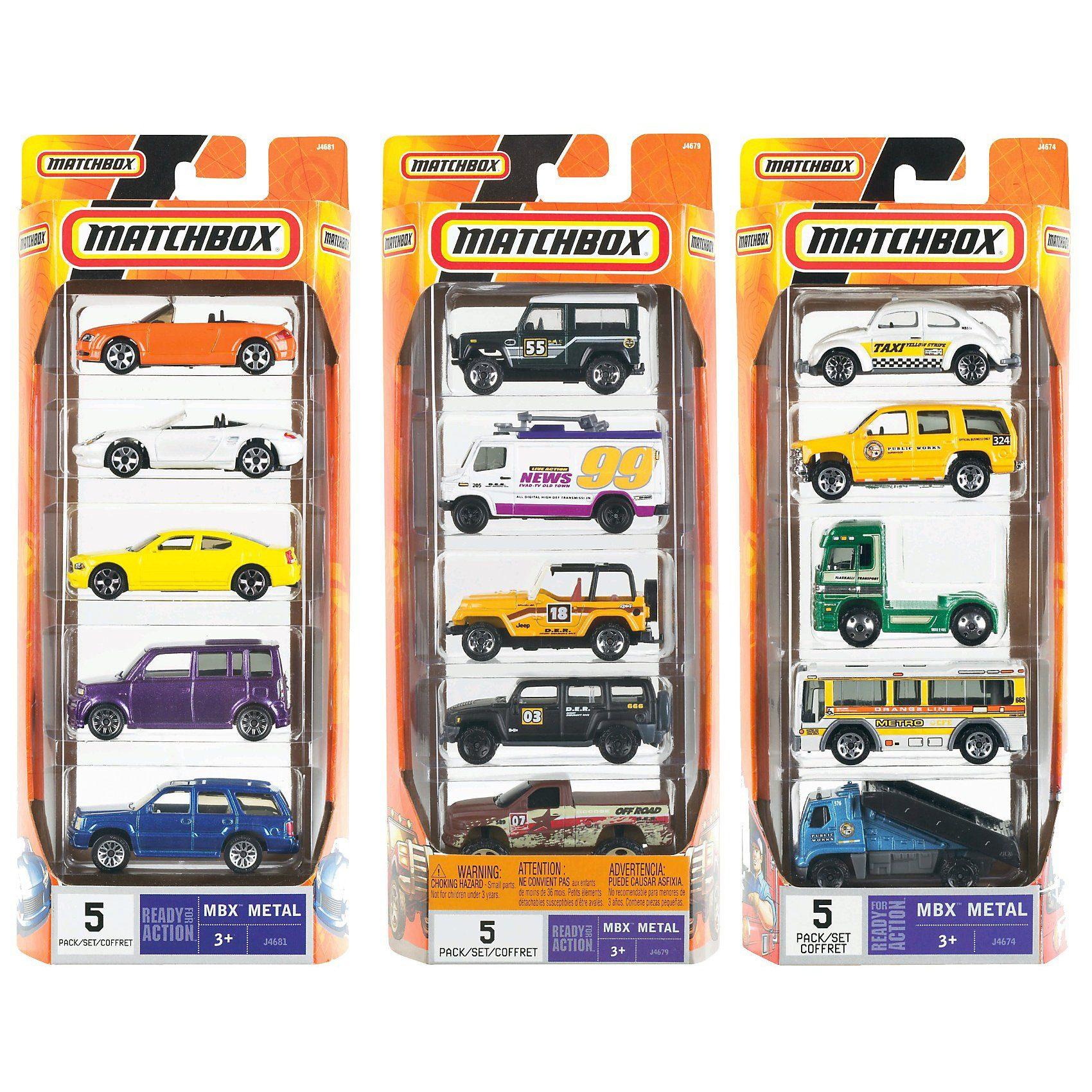 Mattel MATCHBOX 5-er Geschenk-Set