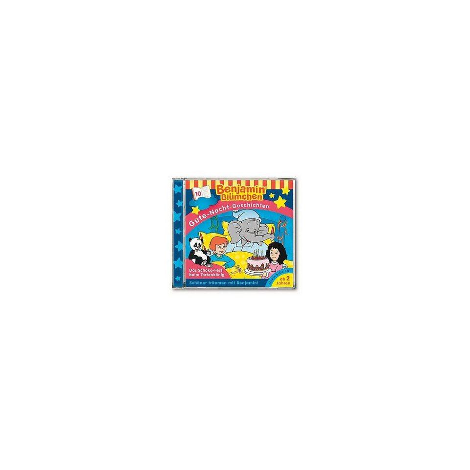 Kiddinx CD Benjamin Blümchen: Gute Nacht Geschichten 10