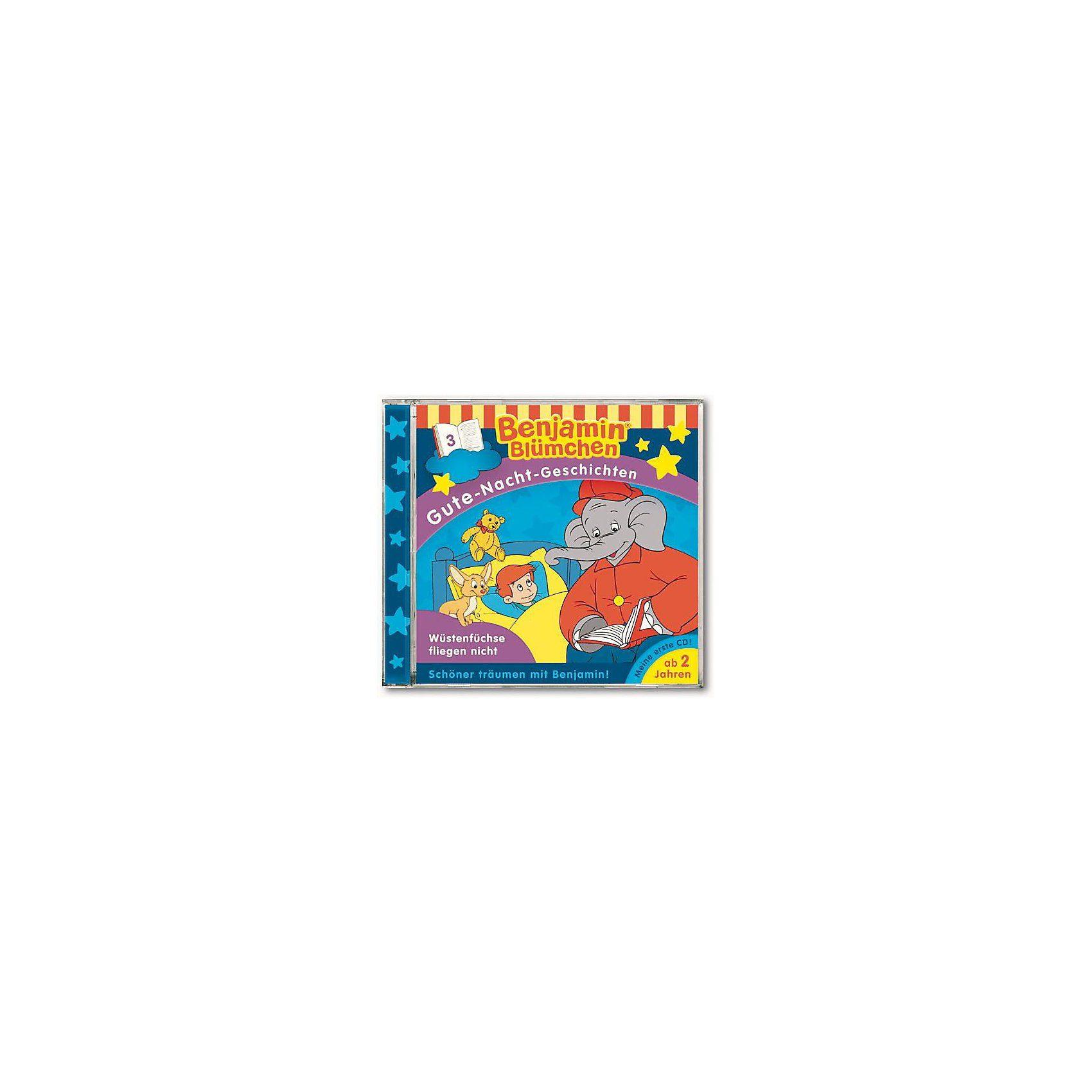 Kiddinx CD Benjamin Blümchen: Gute Nachtgeschichten 04: Benjamin und