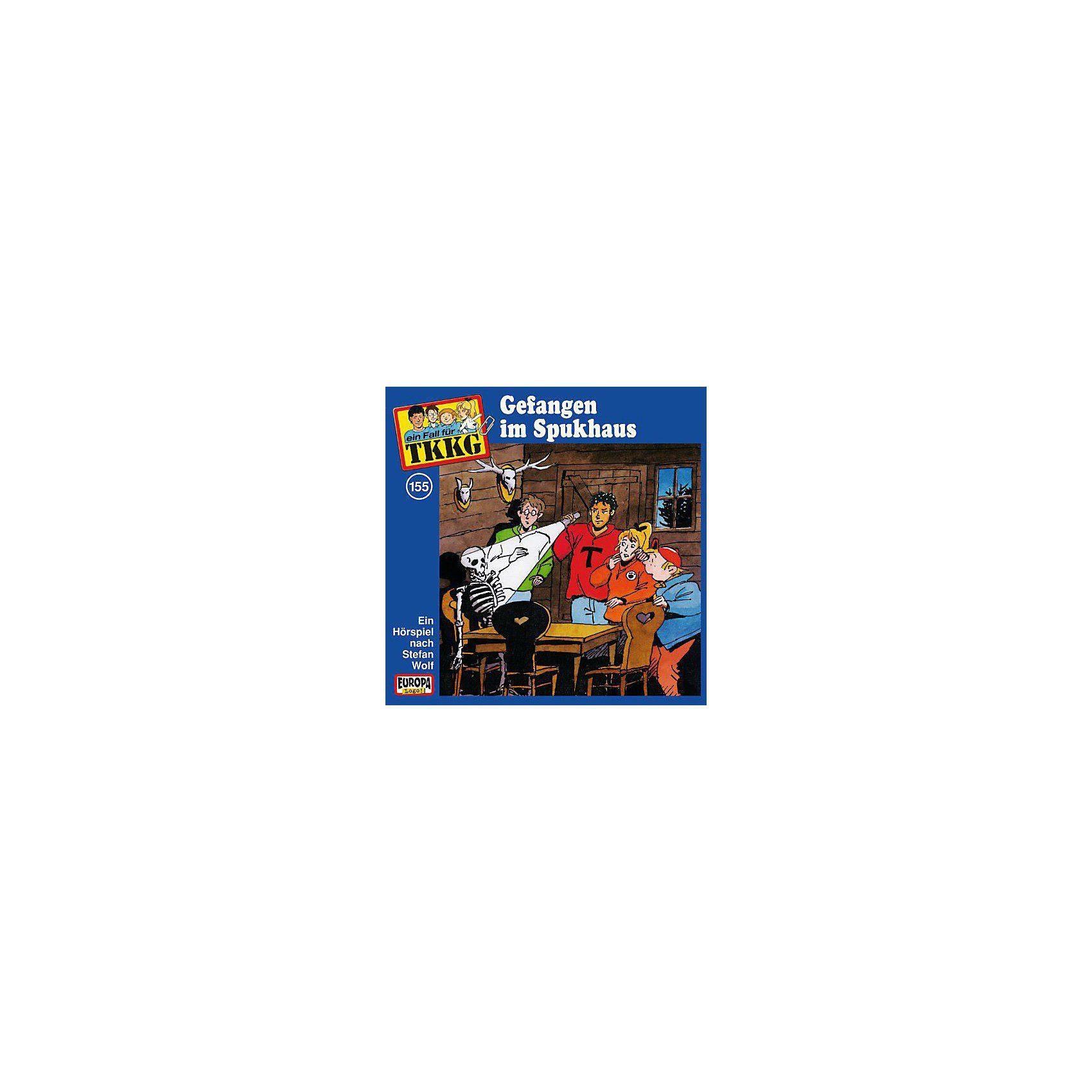 SONY BMG MUSIC CD TKKG 155 (Gefangen im Spukhaus)
