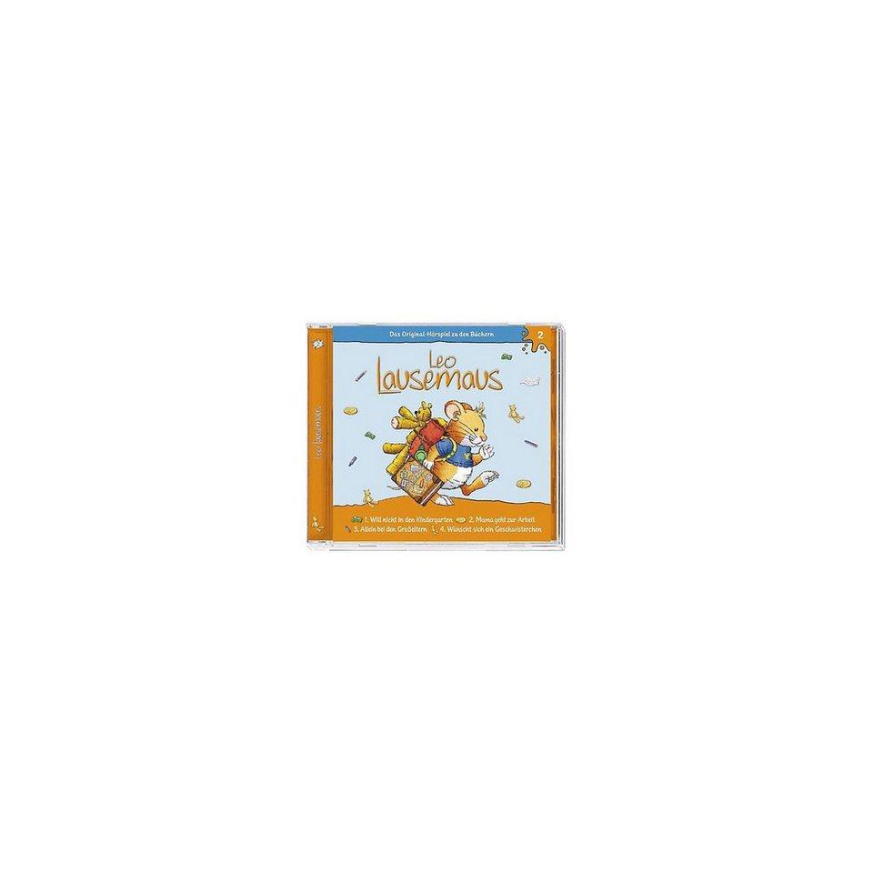 Kiddinx CD Leo Lausemaus 02 (...will nicht in den Kindergarten)