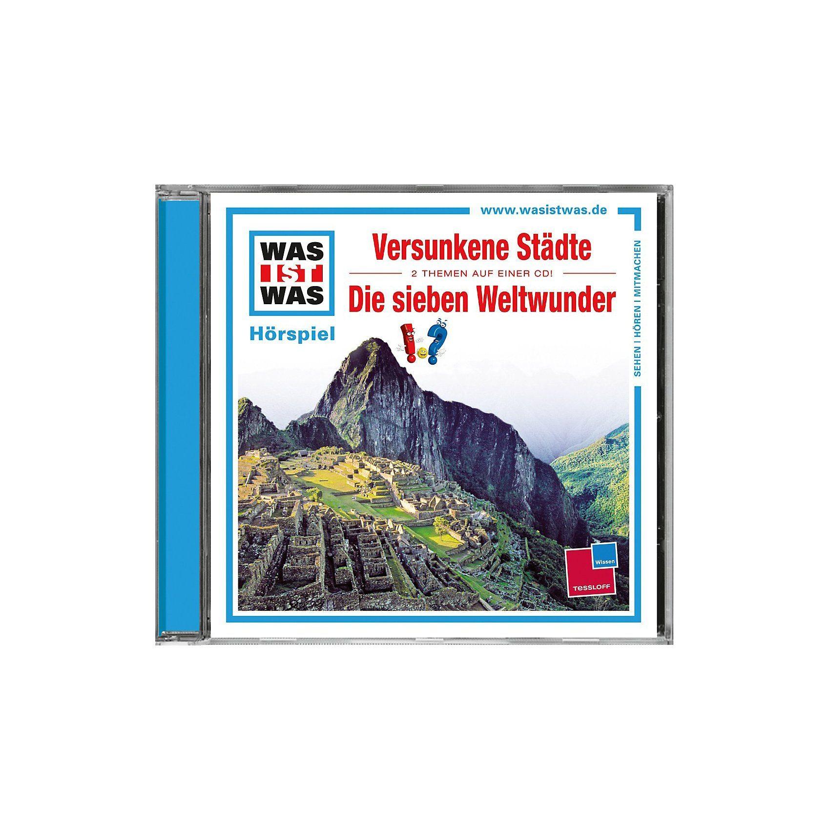 Universal CD Was ist Was 23 (Versunkene Städte/Die Sieben Weltwunder)