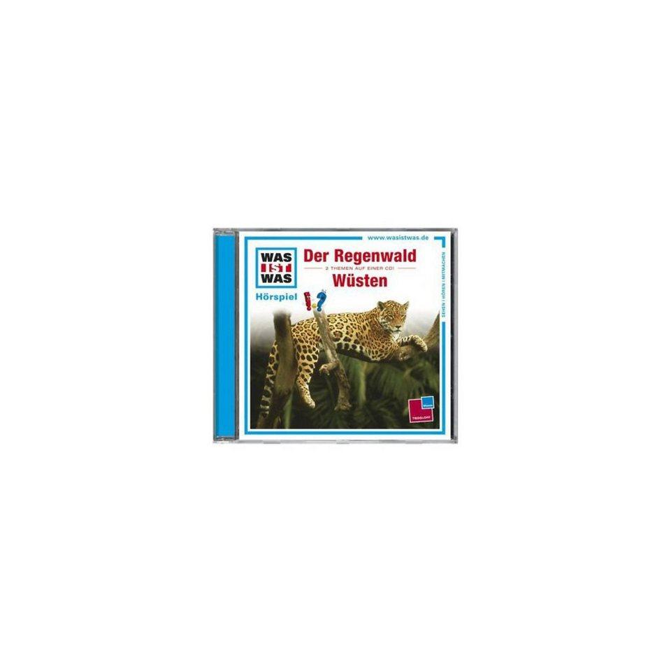 Universal Music GmbH CD Was ist Was 24 (Der Regenwald/Wüsten)