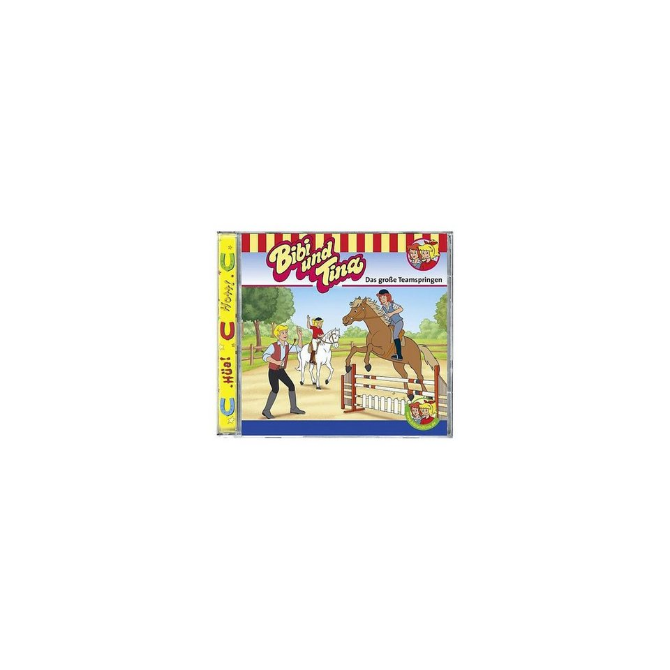 Kiddinx CD Bibi & Tina 57: Das große Teamspringen