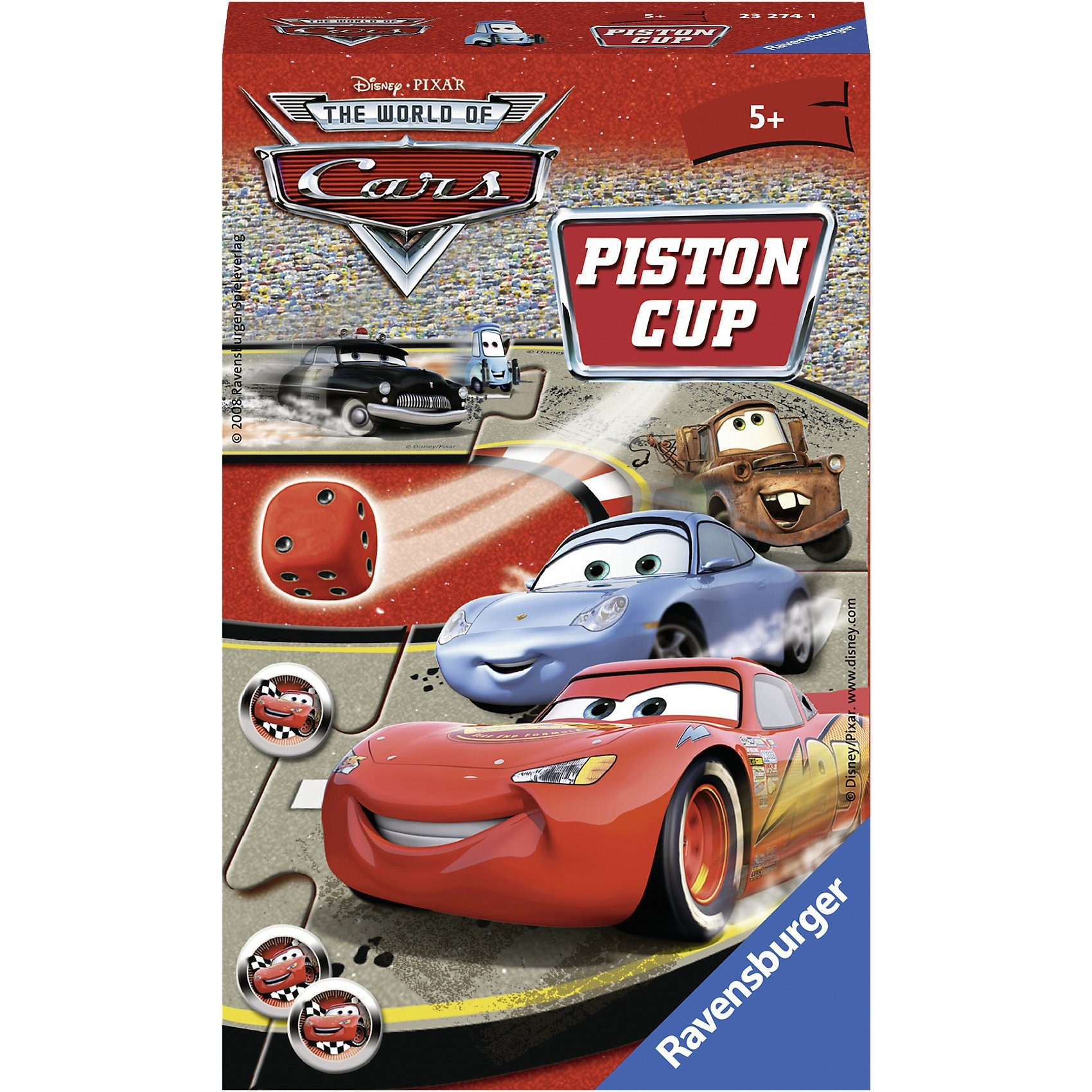 Ravensburger Mitbringspiel Disney Cars: Piston Cup