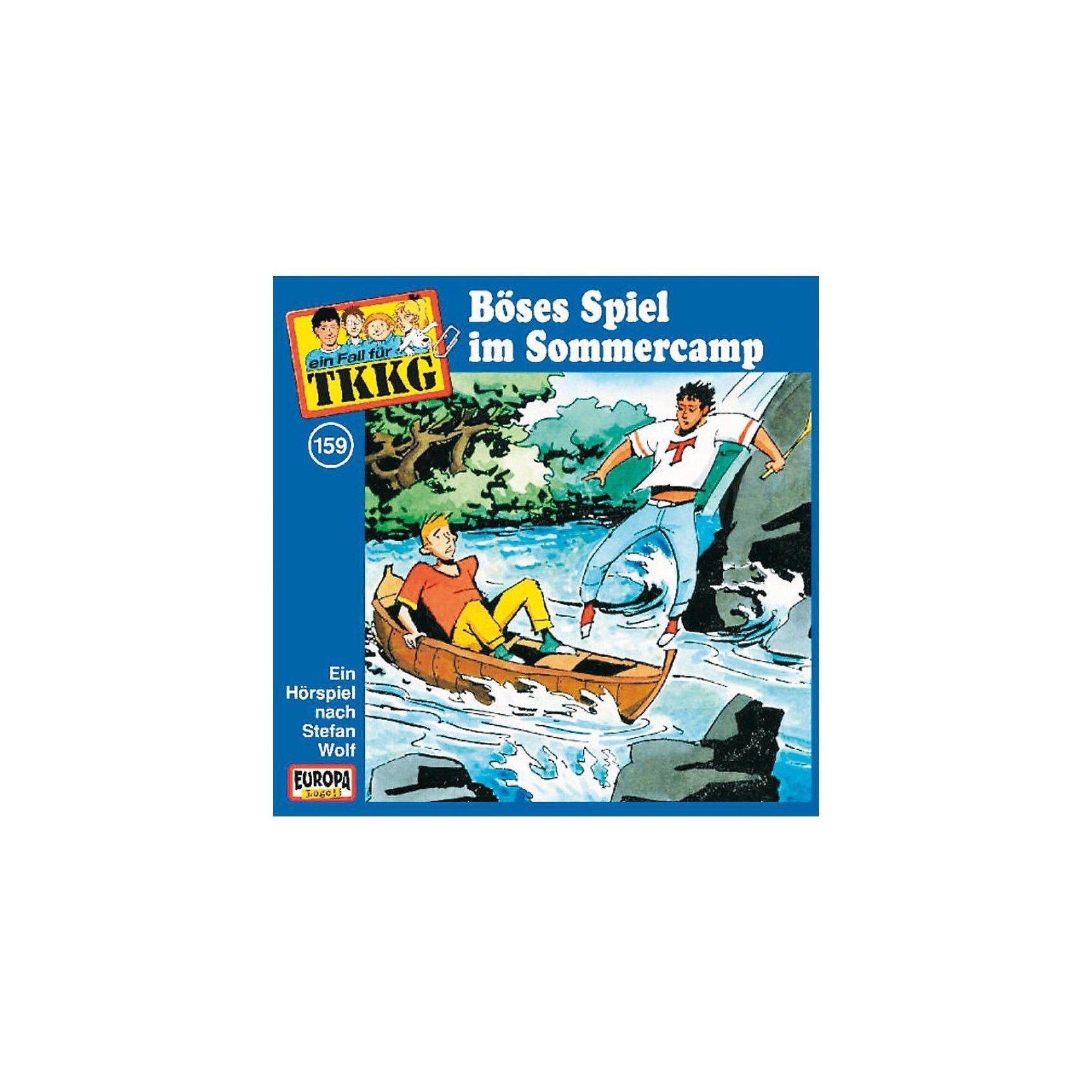 Sony CD TKKG 159: Böses Spiel im Sommercamp