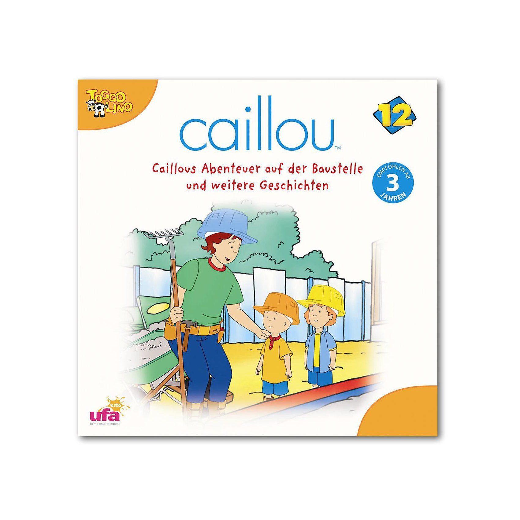 Sony CD Caillou 12 Abenteuer auf der Baustelle