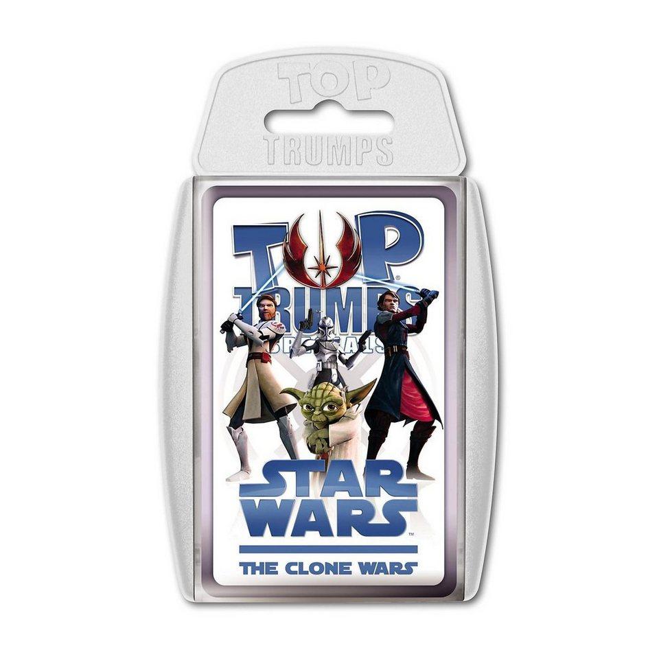Winning Moves Top Trumps - Star Wars The Clone Wars