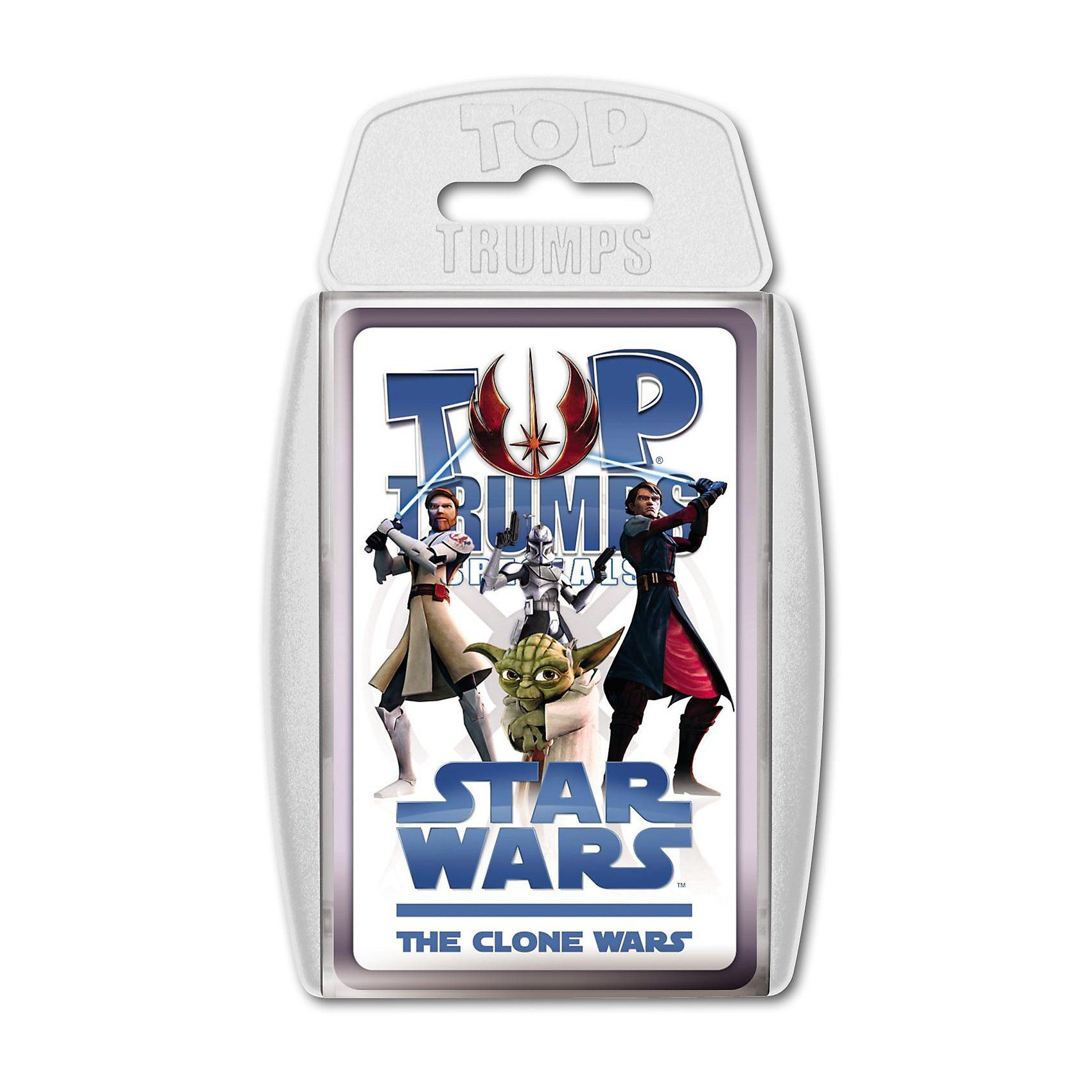 Winning Moves Top Trumps - Star Wars The Clone Wars