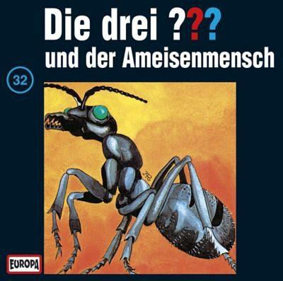 SONY BMG MUSIC CD Die Drei ??? 32 - und der Ameisenmensch