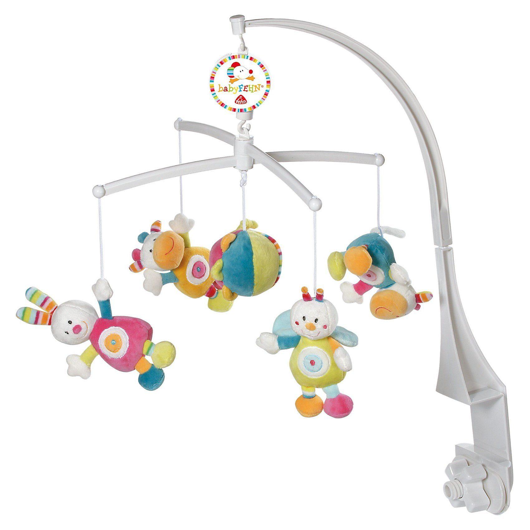 Fehn Mobile mit Spieluhr Tiere/Ball
