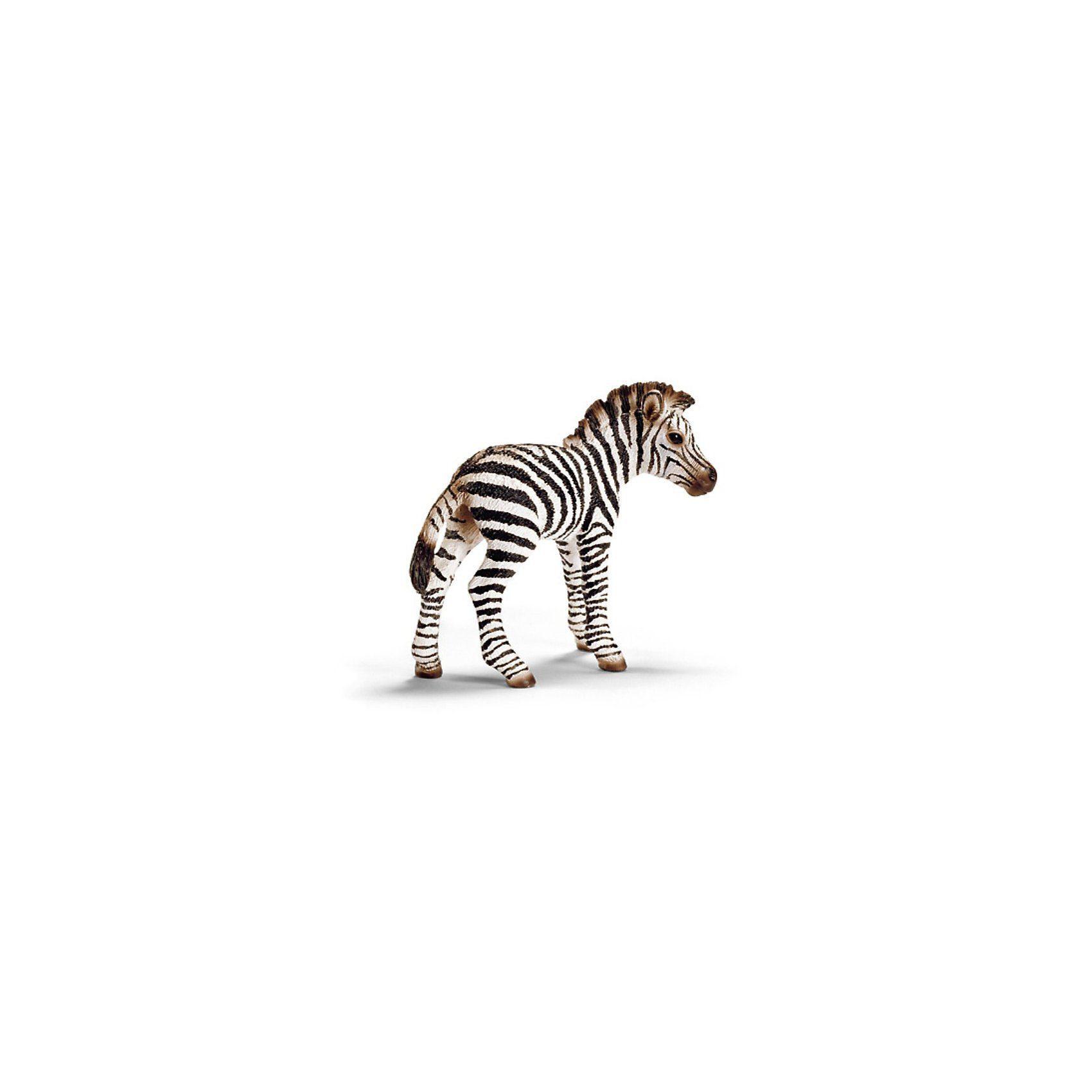 Schleich 14393 Wild Life: Zebra Fohlen