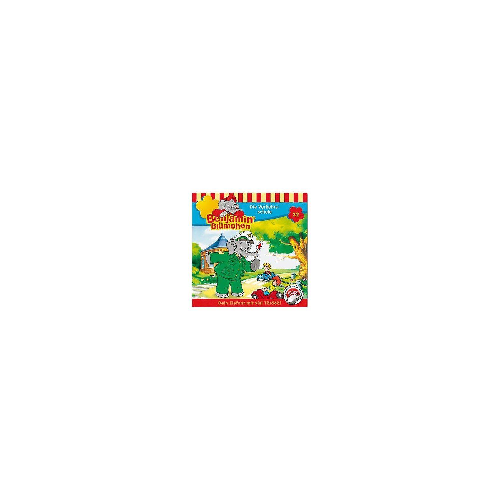 Kiddinx CD Benjamin Blümchen 32 - Die Verkehrsschule