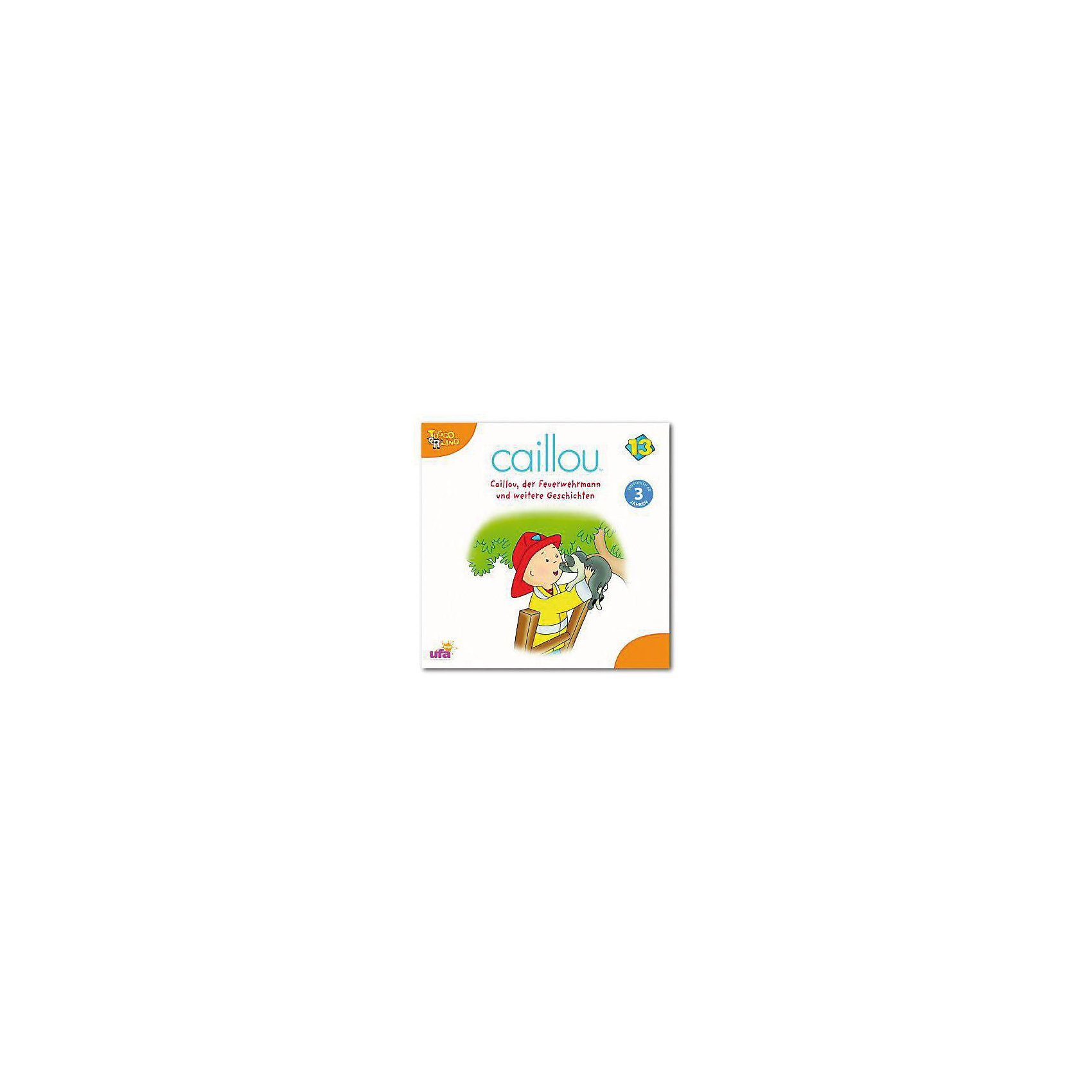 SONY BMG MUSIC CD Caillou 13 - Caillou der Feuerwehrmann