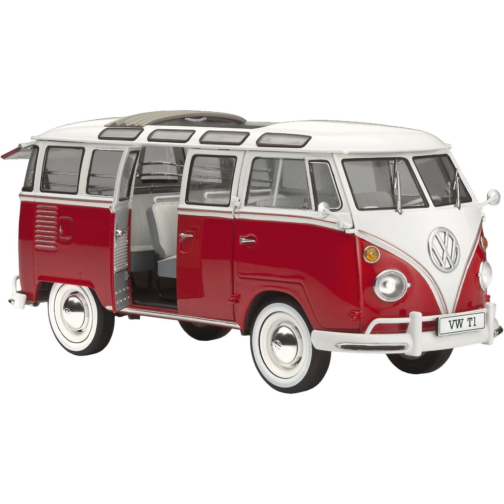 Revell Modellbausatz VW T1 Samba Bus Maßstab 1:24