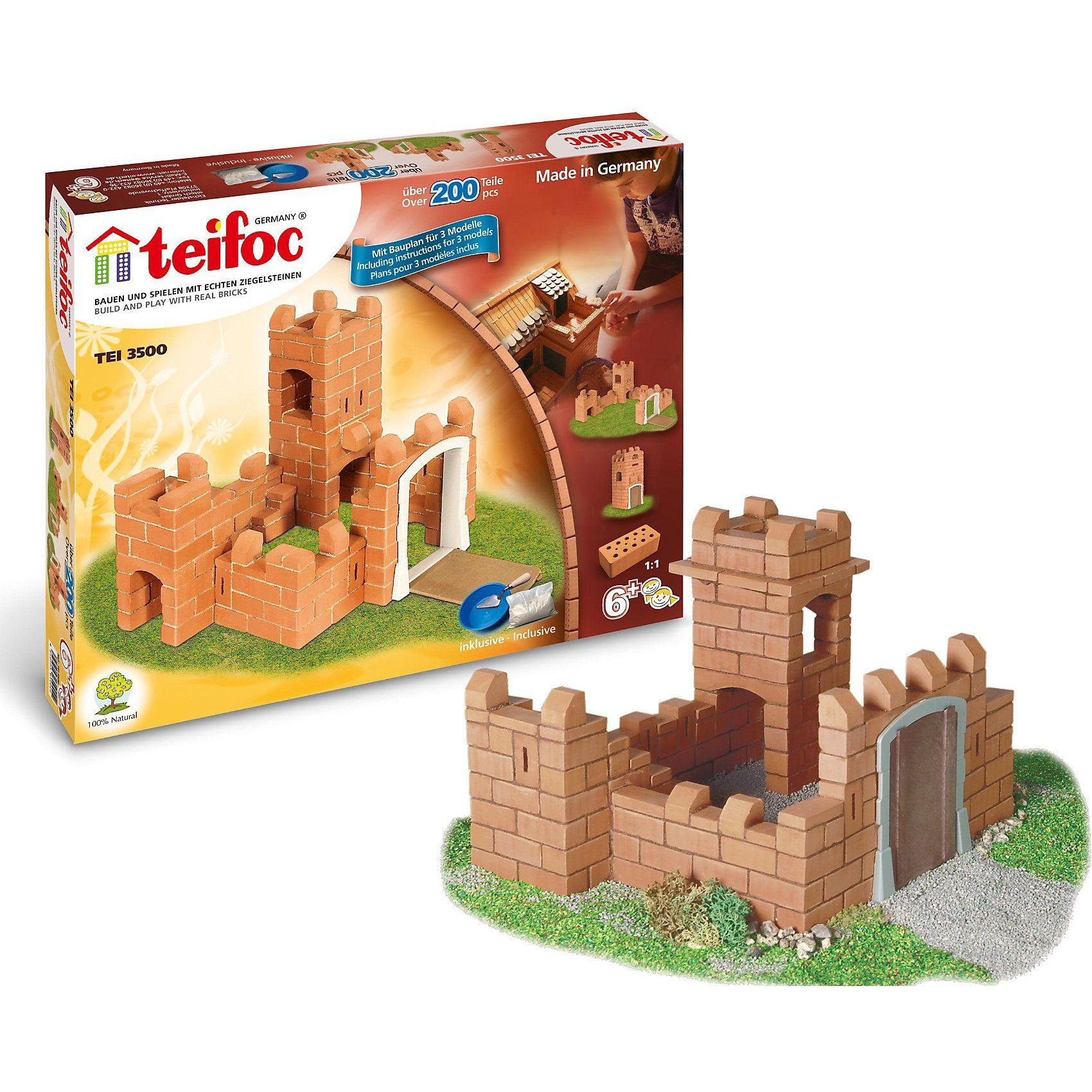 """teifoc TEI 3500 Steinbaukasten - """"Burg"""""""