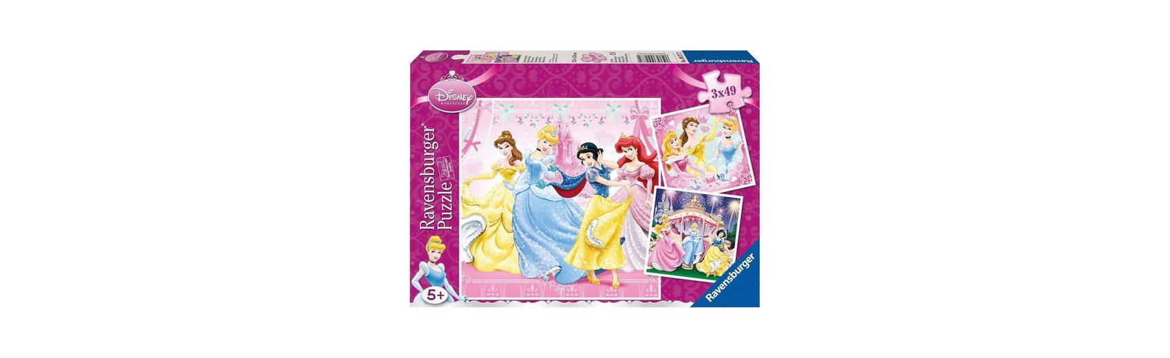 Ravensburger Disney Princess: Schneewittchen, ,Cinderella, Dornröschen, A
