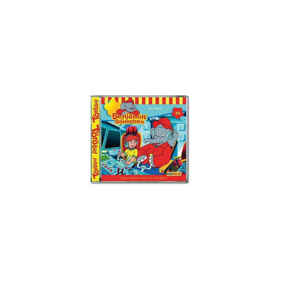 Kiddinx CD Benjamin Blümchen 30 - als Pilot
