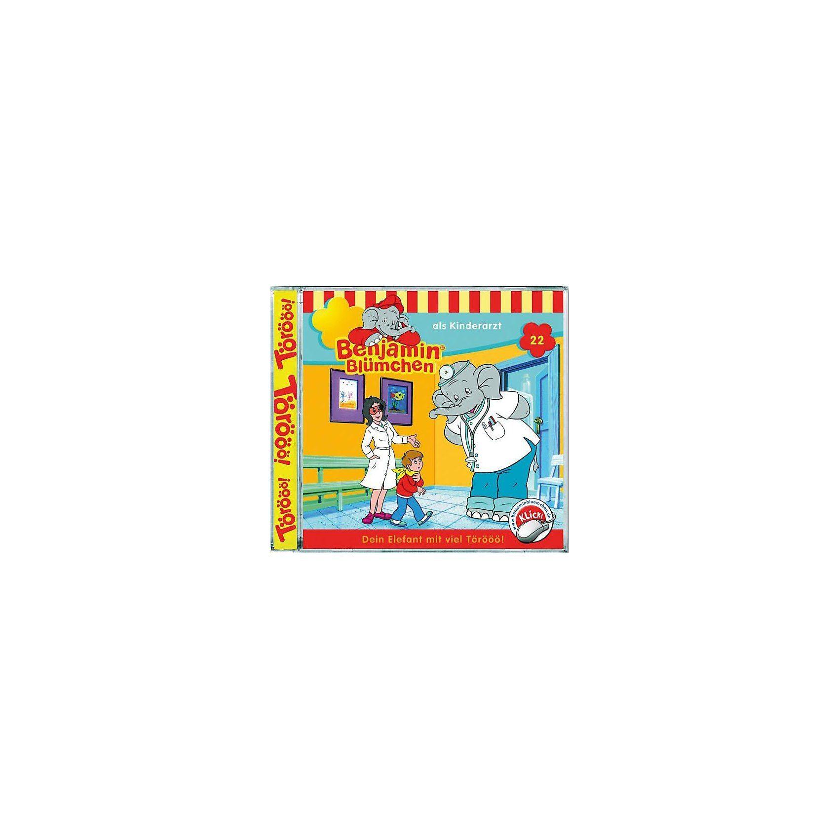 Kiddinx CD Benjamin Blümchen 22 - als Kinderarzt