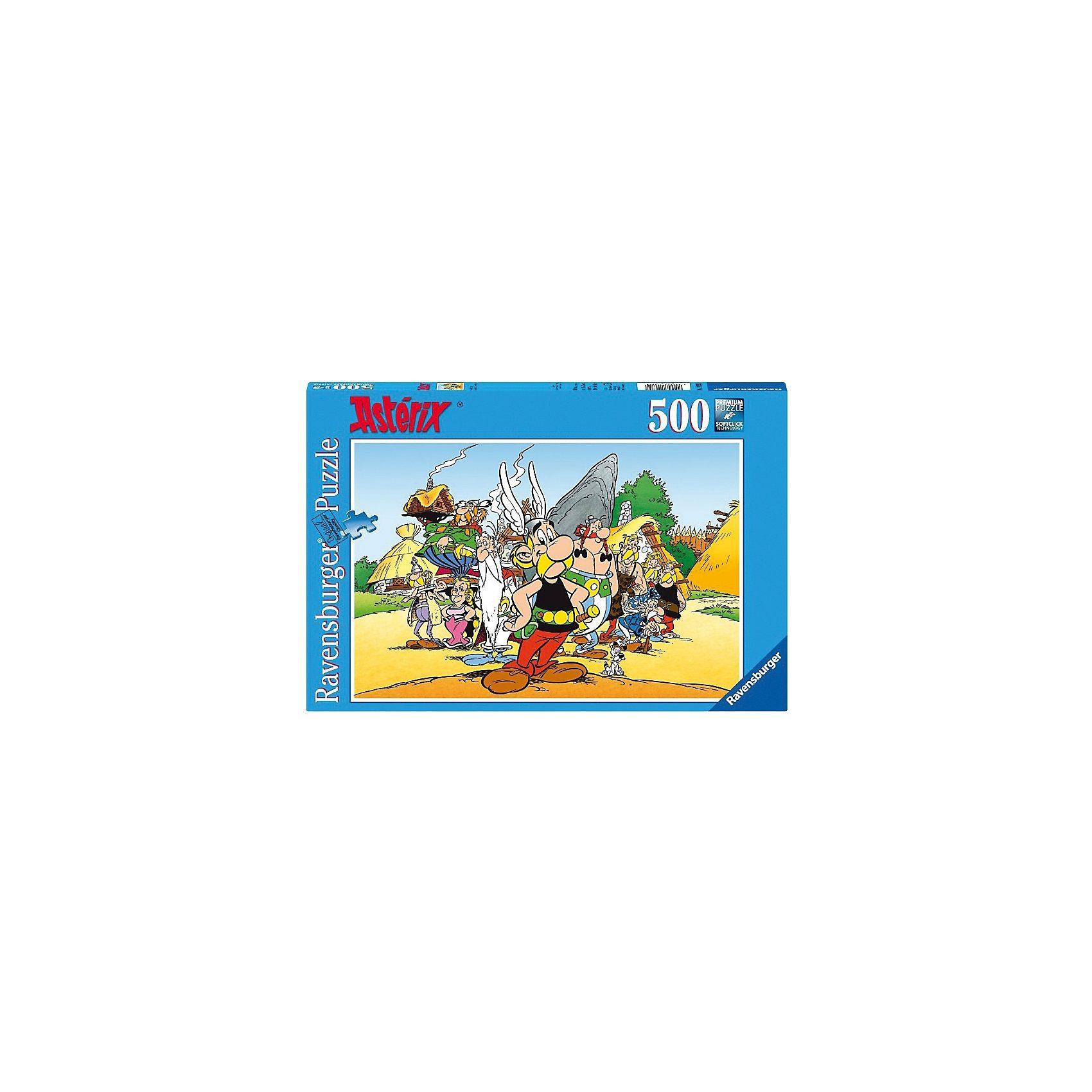 Ravensburger Puzzle 500 Teile Asterix & Co