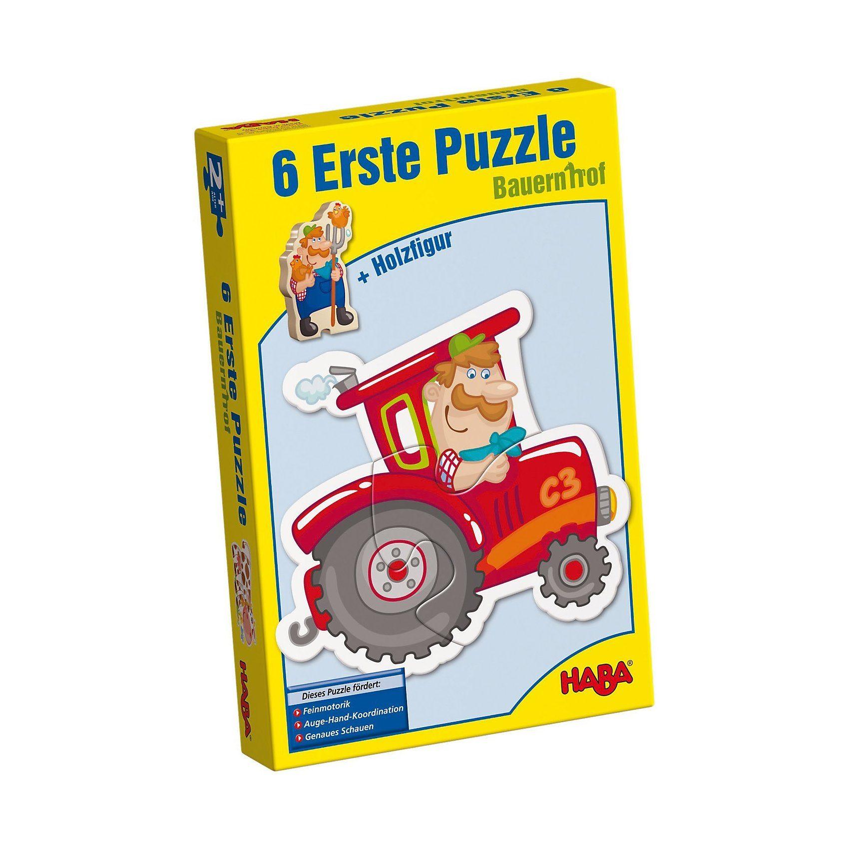 Haba 6 Erste Puzzle - Bauernhof