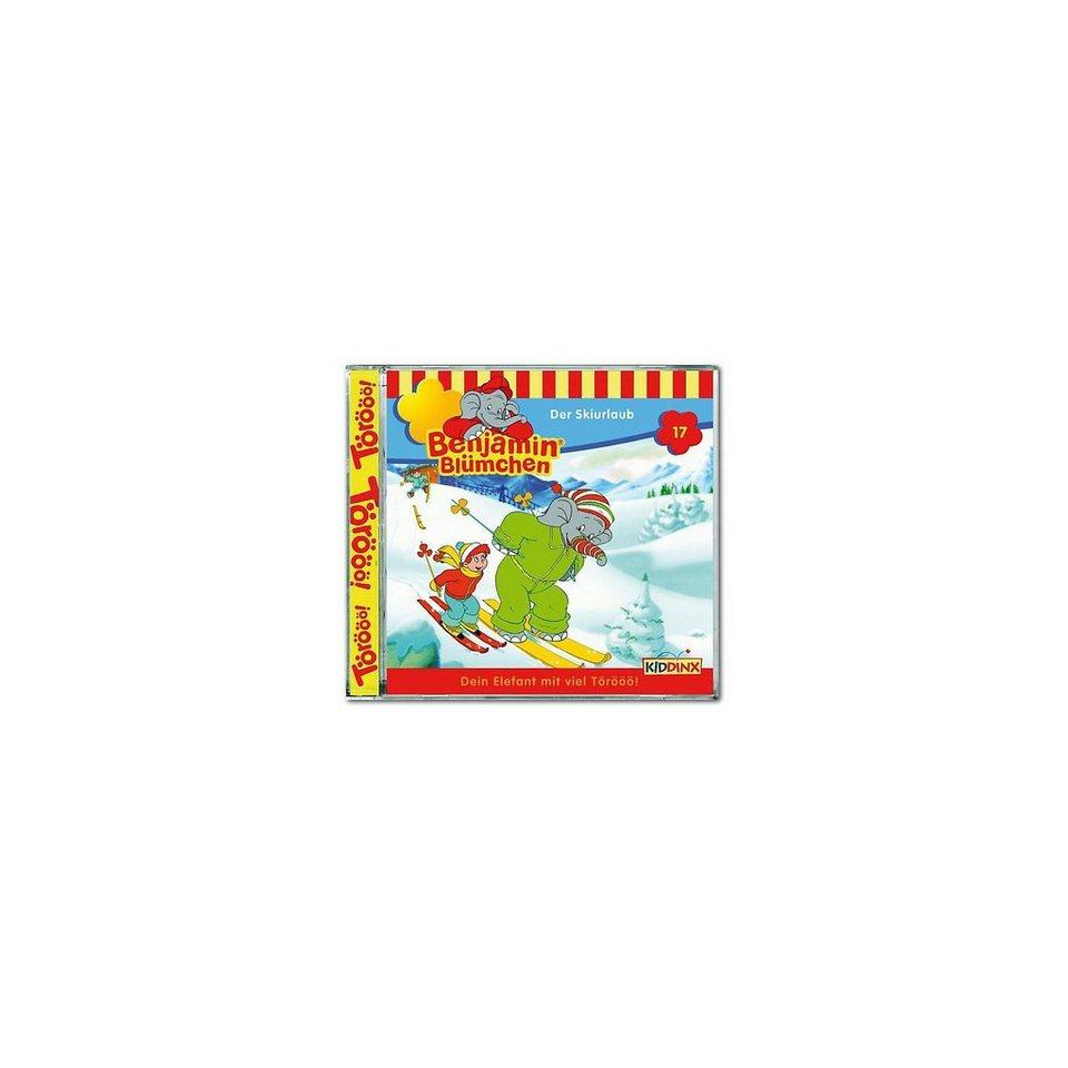 Kiddinx CD Benjamin Blümchen 17 - Der Skiurlaub
