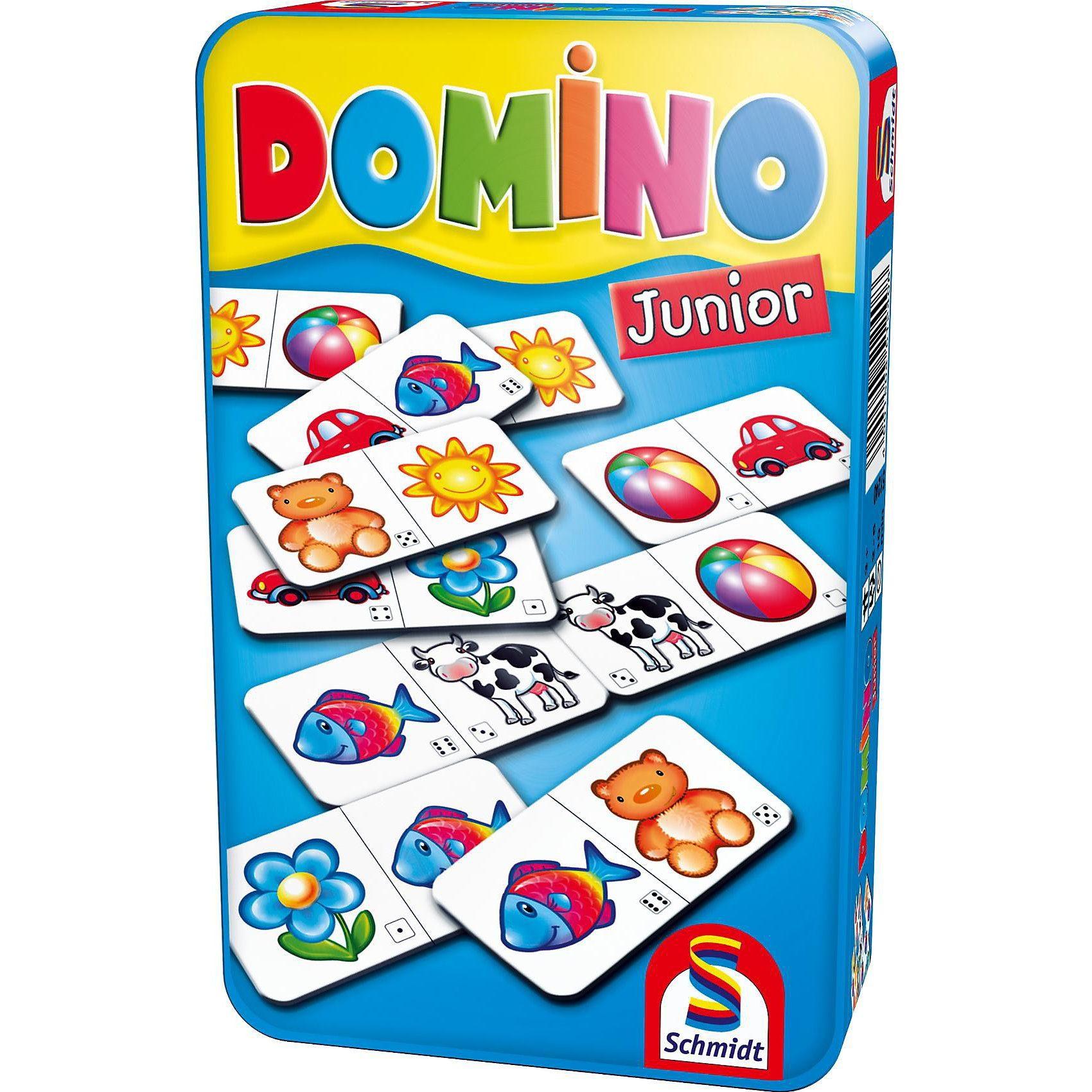 Schmidt Spiele Mitbringspiel Domino Junior