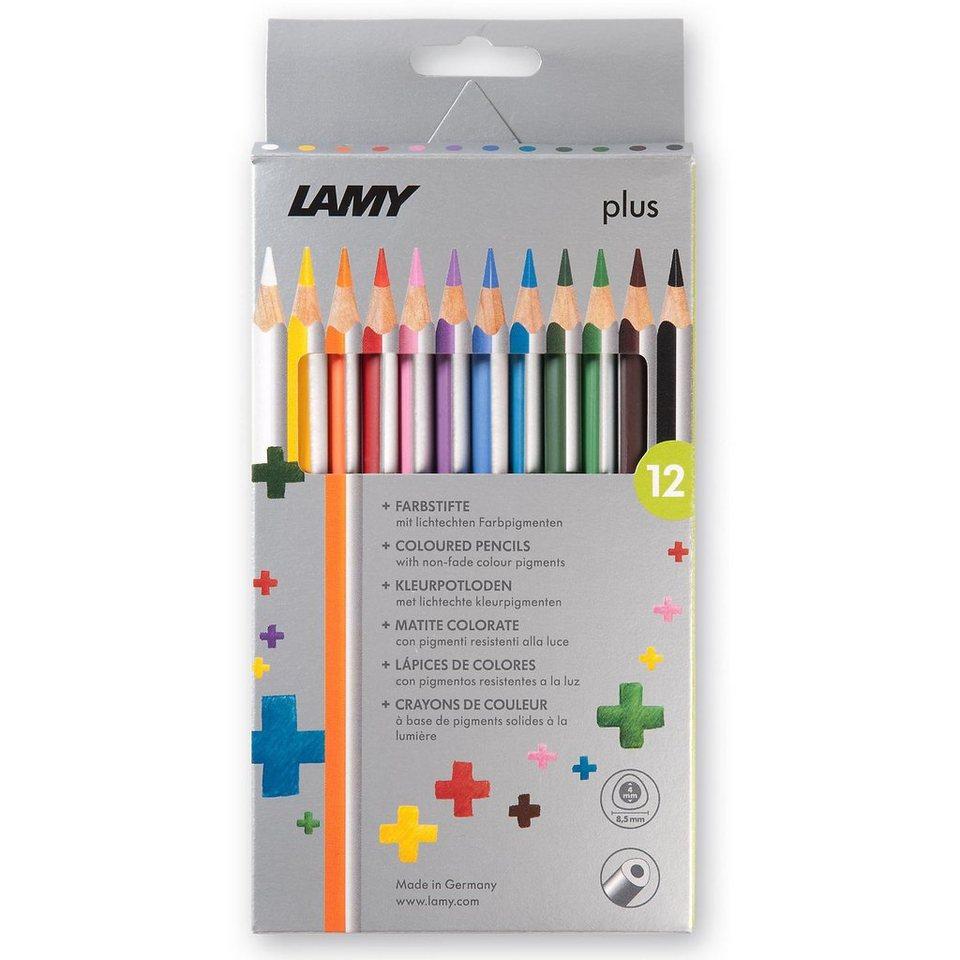 Lamy Plus-Buntstifte, 12 Farben, Kartoneui