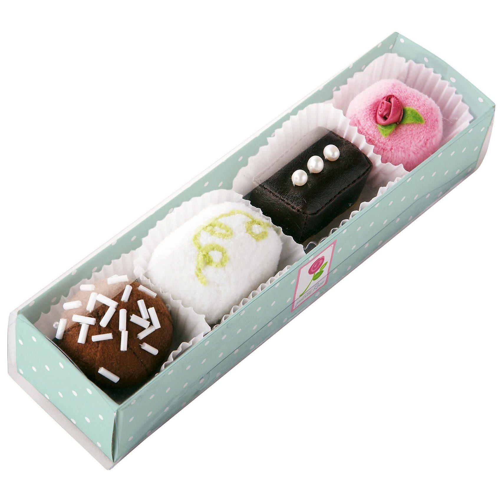 Haba 3807 4er Pack Pralinen Spiellebensmittel
