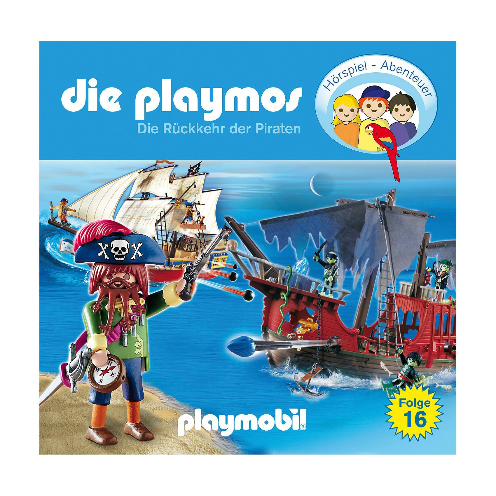 Edel Germany GmbH CD Die Playmos 16 - Die Rückkehr der Piraten