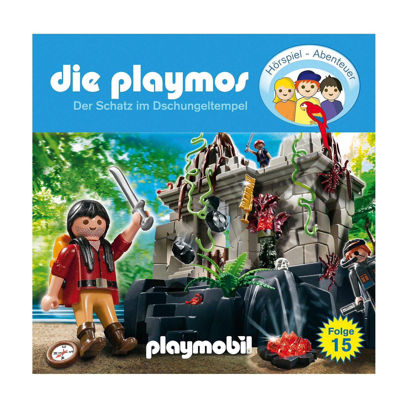 Edel Germany GmbH CD Die Playmos 15 - Der Schatz im Dschungeltempel