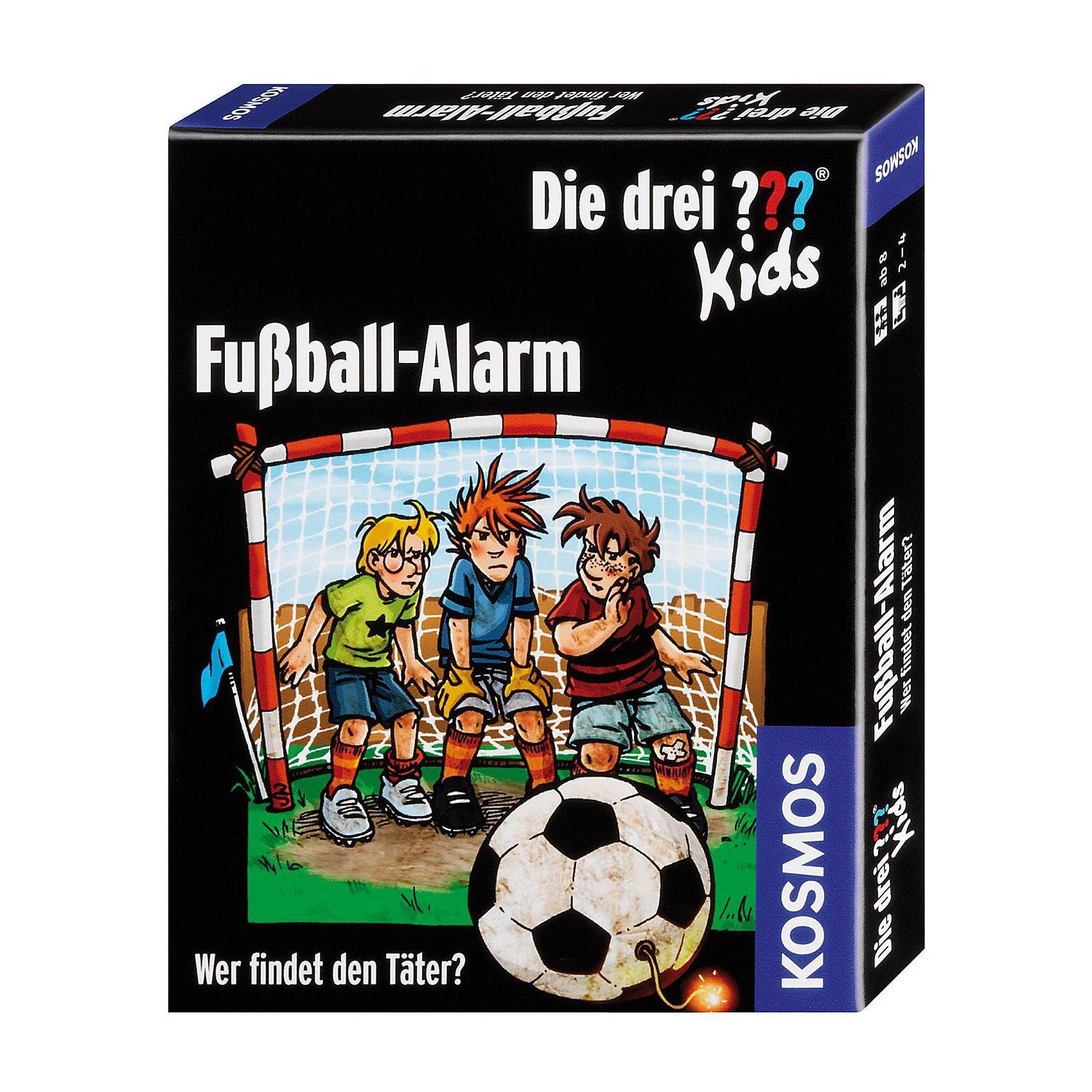 Kosmos Kartenspiel Die drei ??? Kids Fußball-Alarm