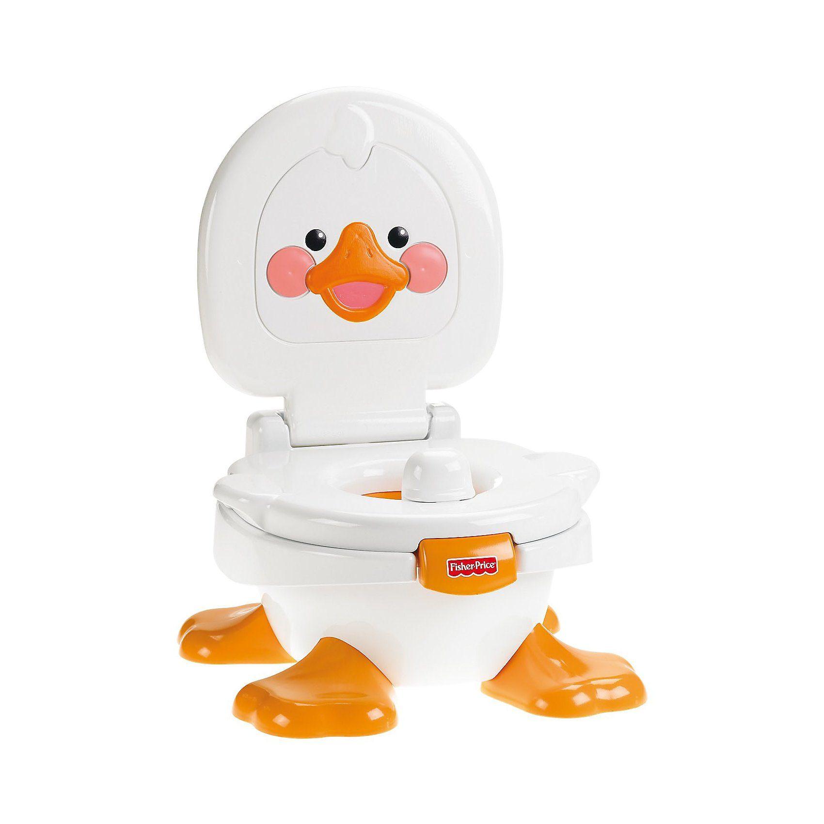 Mattel Fisher-Price - Lerntöpfchen und Fußbank - Duckie