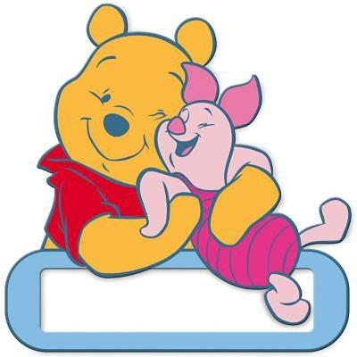 Decofun Namensschild für Tür, Winnie the Pooh in mehrfarbig